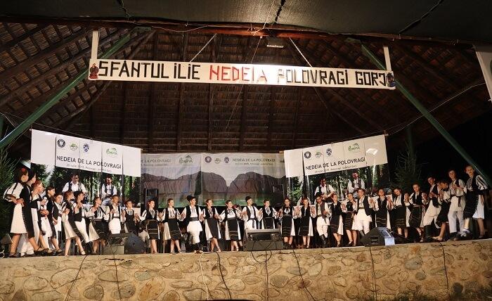Cantecul pastoral celebrat in Judetul Gorj - Festivalul Cheile Oltetului