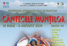 Festivalul International de Folclor Cantecele Muntilor 2019