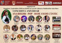 Concert aniversar - Ana Holdis Pop - 40 de ani de Cantec