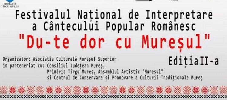 Festivalul Du-te dor cu Mureșul 2019