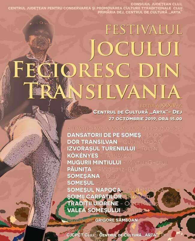 Festivalul Jocului Fecioresc din Transilvania 2019