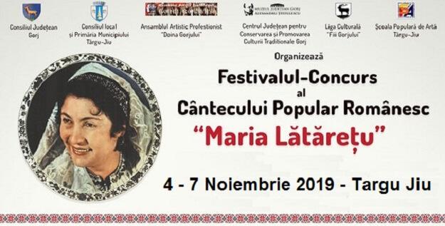"""Festivalul Cântecului Popular Românesc """"Maria Lătărețu"""" 2019"""