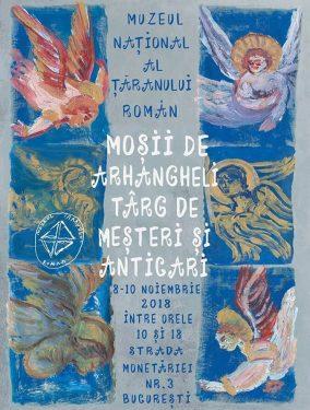 Mosii de Arhangheli. Targ cu mesteri si anticari