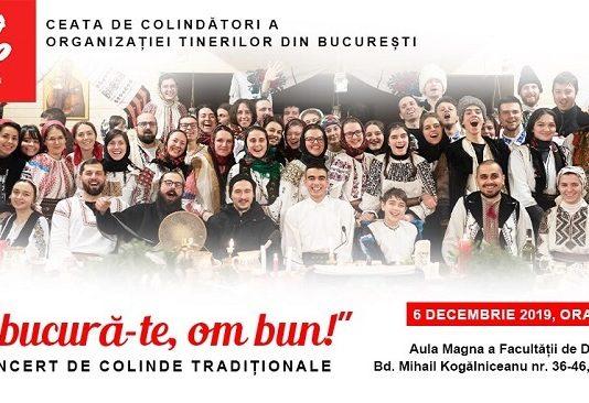 Concert de colinde traditionale - Imbucura-te, om bun!