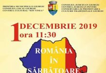 Program 1 Decembrie 2019 - Giurgiu