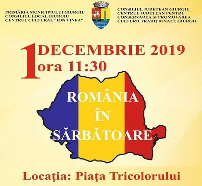 Program 1 Decembrie 2019 - Giurgiu