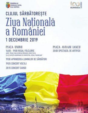 Program 1 Decembrie - Cluj Napoca 2019