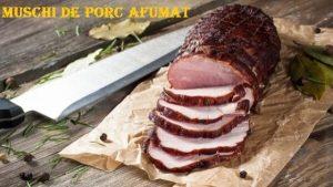 Reteta - Afumare Muschi de porc cu boia