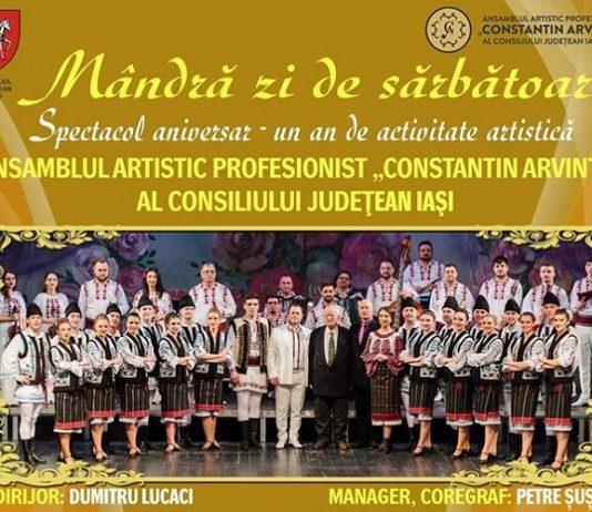 Spectacolul aniversar Mandra zi de sarbatoare - Ansamblul Constantin Arvinte