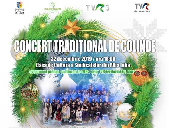 Concert Traditional de Colinde - Alba Iulia 2019