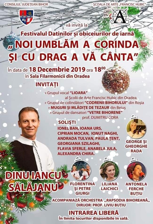 Festivalul Datinilor - Noi umblam a colinda si cu drag a va canta