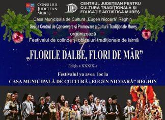 Festivalul de Colinde - Florile Dalbe, Flori de Mar 2019