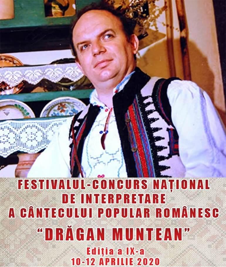 "Festivalul popular Românesc ""Drăgan Muntean"" 2020"