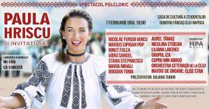 Spectacol Folcloric - Paula Hriscu si Invitatii sai
