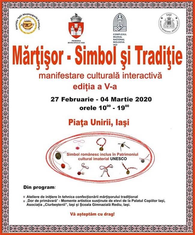 Targ Martisor - simbol si traditie - Iasi 2020