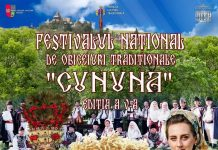 Festivalul National de Obiceiuri Traditionale Cununa 2020