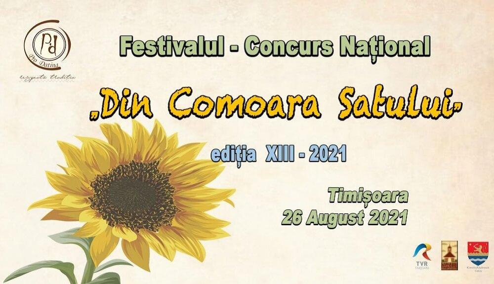 Festivalul Din Comoara Satului 2021