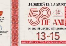 Ansamblul folcloric Floricica de la munte - 50 de ani de Activitate