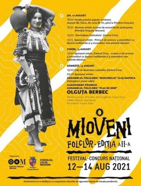 Festival National de Folclor Mioveni 2021