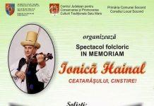 Spectacol folcloric - In Memoriam Ionica Hainal